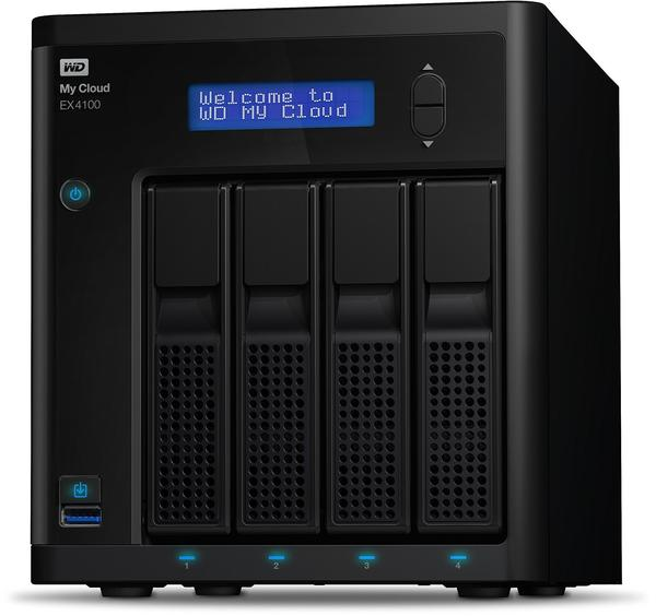 Western Digital My Cloud EX4100 4-Bay Leergehäuse