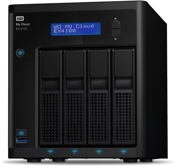Western Digital My Cloud EX4100 4-Bay 24TB