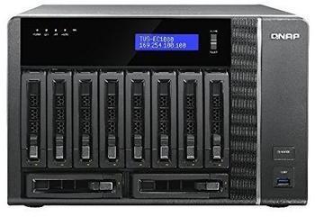 QNAP TVS-EC1080-E3-8G 0TB