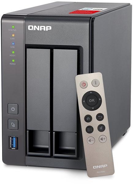 QNAP TS-251+ (2GB) Leergehäuse