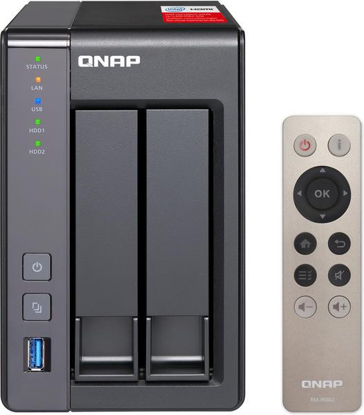 QNAP TS-251+ 8GB Ram 8TB (2 x 4TB)