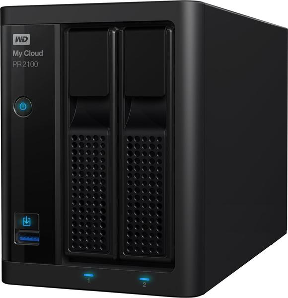 Western Digital My Cloud PR2100 2Bay 8TB