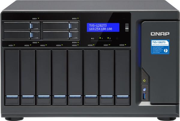 QNAP TVS-1282T3-i7-64G Leergehäuse