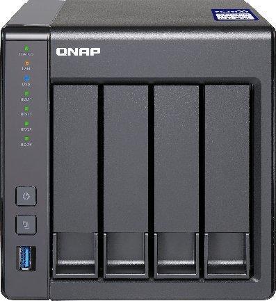 QNAP TS-431X2-8G Leergehäuse