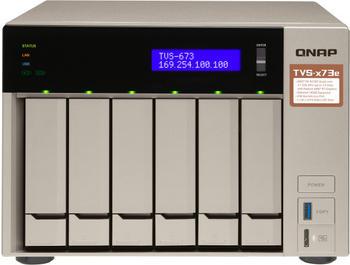 QNAP TVS-673e-4G Leergehäuse