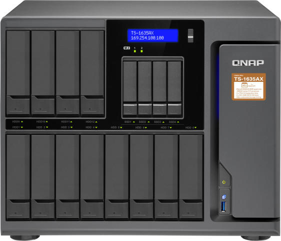 QNAP TS-1635AX-4G Leergehäuse