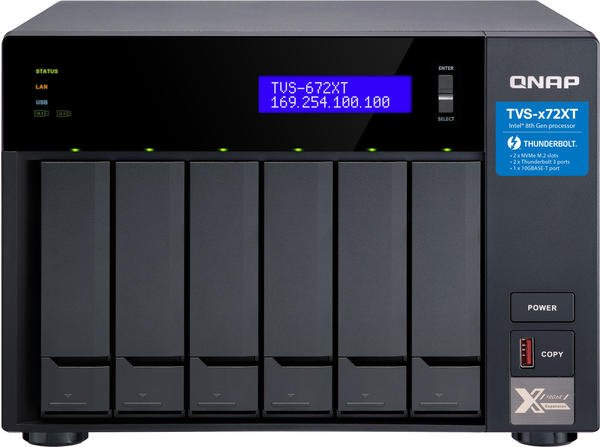 QNAP TVS-672XT-i3-8G Leergehäuse