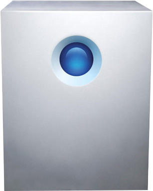 LaCie 5big Externes Multi-Festplatten-System 30TB Silber Thunderbolt 2
