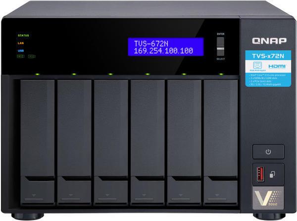 QNAP TVS-672N-i3-4G Leergehäuse