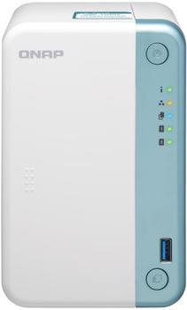 qnap-ts-251d-4g-desktop-nas-gehaeuse-mit-2-schaechten-4-gb-ram-2-0-ghz-dual-core-prozessor-mit-aes-ni-verschluesselung-und-4k-hardware-transcodierung