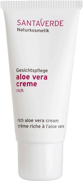 Santaverde Aloe Vera Creme rich (30ml)