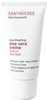 Santaverde Aloe Vera Creme medium ohne Duft (30ml)