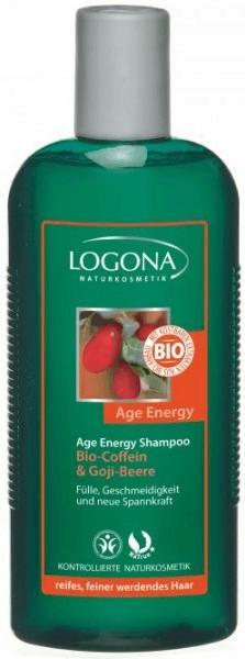 Logona Age Energy Shampoo Bio-Coffein & Gojibeere (250ml)