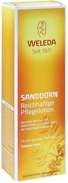 Weleda Sanddorn Reichhaltige Pflegelotion (200ml)