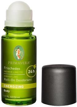 Primavera Life Frischedeo Ingwer Limette (50 ml)