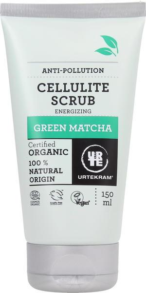 Urtekram Green Matcha Bodypeeling gegen Cellulite mit grünem Tee (150ml)