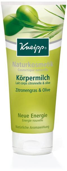 Kneipp Körpermilch Zitronengras & Olive (200ml)