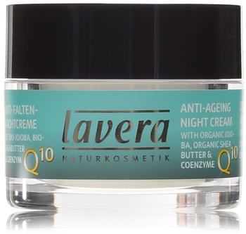 Lavera Basis Sensitiv Q10 Anti-Falten Nachtcreme (50ml)