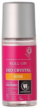Urtekram Rosen Deokristall Roll-On Bio (50 ml)
