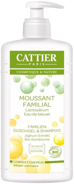 Cattier Familien Duschgel und Shampoo (500ml)
