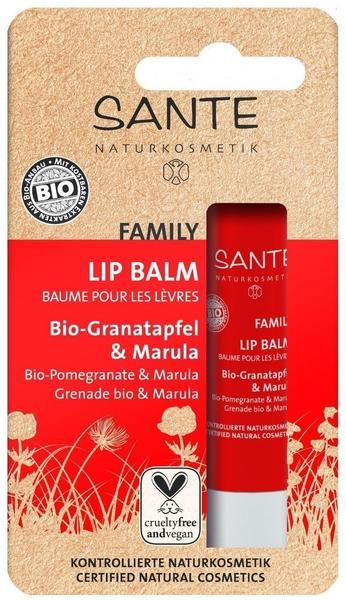 Sante Family Lip Balm Bio-Granatapfel & Marula (4,5g)