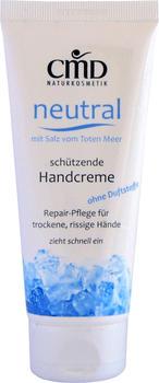 CMD Naturkosmetik Neutral Handcreme mit Salz vom Toten Meer (100 ml)