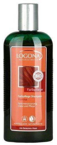 Logona Farbpflege-Shampoo Henna, für rot-braunes Haar (250ml)