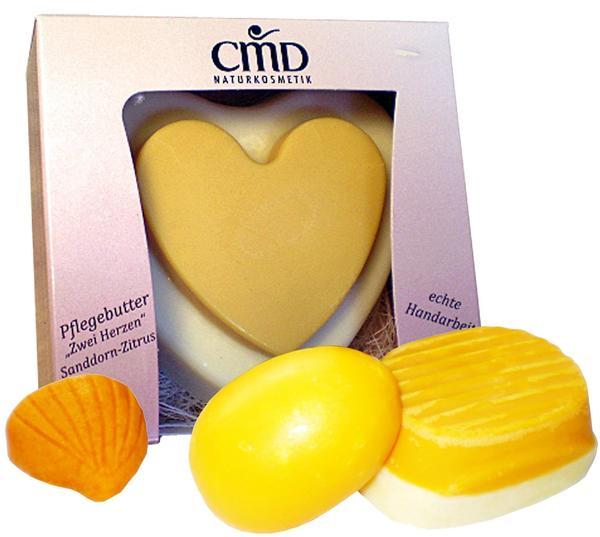 CMD Pflegebutter Sanddorn-zitrus Zwei Herzen - 90 g