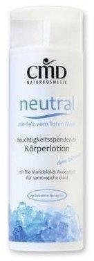 CMD Naturkosmetik Neutral Körperlotion mit Salz vom Toten Meer (200ml)