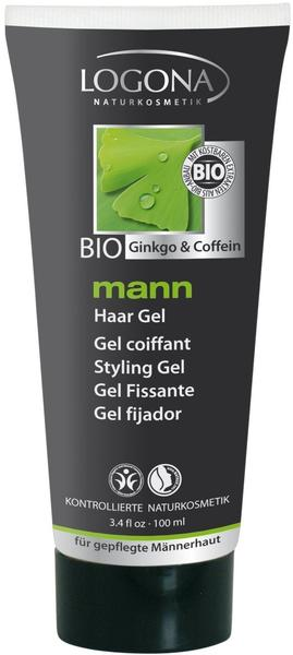 Logona Mann Bio Ginkgo & Coffein Haar Gel (100ml)