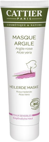 Cattier Rosa Heilerde Maske für empfindliche Haut 100 ml