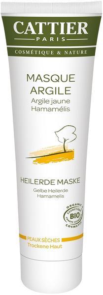 Cattier Gelbe Heilerde Maske für trockene Haut 100 ml