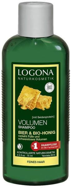 Logona Volumen-Shampoo Bier & Honig (75 ml)