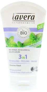 Lavera 3in1 Reinigung Peeling Maske (125ml)
