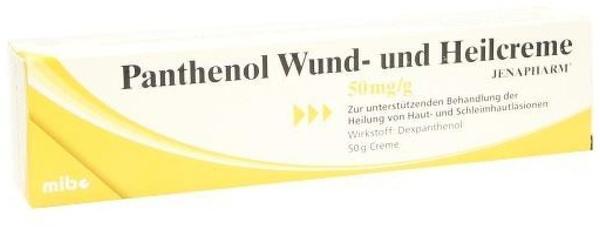 PANTHENOL Wund- und Heilcreme 50 g