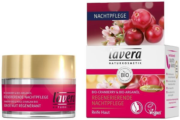 Lavera Regenerierende Cranberry Nachtpflege (50ml)