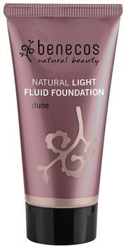 benecos Natural Light Fluid Foundation - Dune (30 ml)
