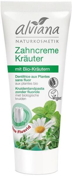 Alviana Zahncreme Kräuter (75ml)