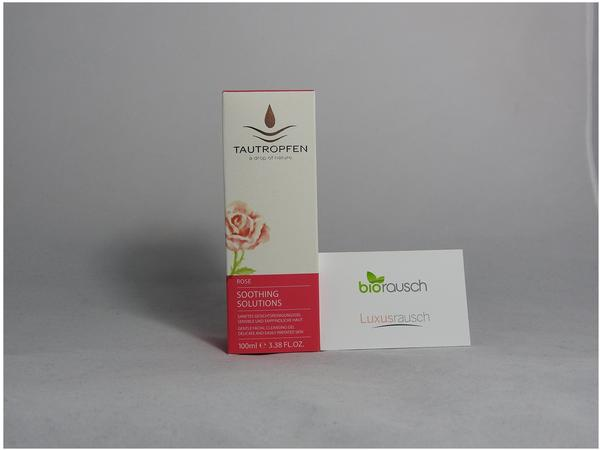 Tautropfen Rose Soothing Solutions Gesichtsreinigungsgel (100ml)