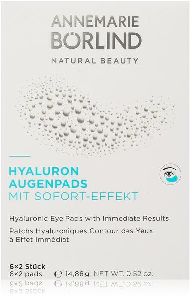 Annemarie Börlind Hyaloron Augenpads mit Sofort-Effekt (2 x 2 Stk.)