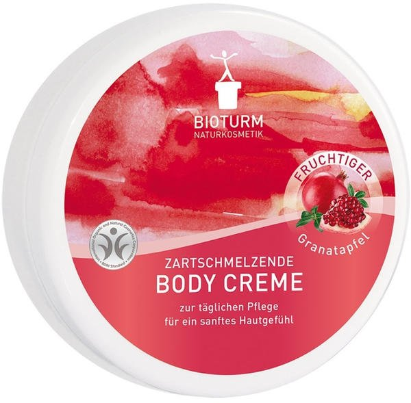 Bioturm Body Creme Granatapfel - softe Körpercreme (250ml)