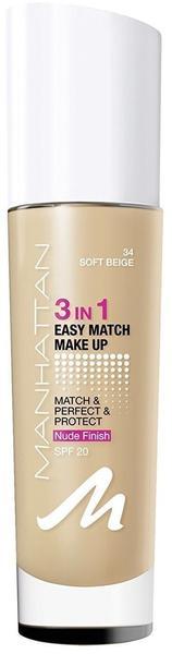Manhattan 3in1 Easy Match Make-Up
