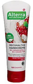 Alterra Reichhaltige Handcreme Bio-Granatapfel & Bio-Sheabutter (75 ml)