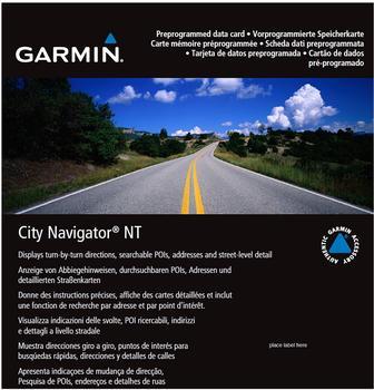 Garmin City Navigator Europa NT Alpen + DACH (microSD/SD)