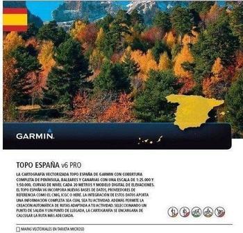 Garmin Topo Spanien V6 PRO microSD/ SD