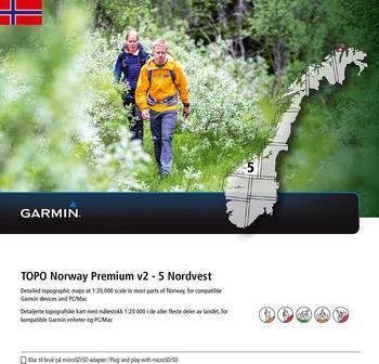 Garmin Topo Norwegen Premium Südosten