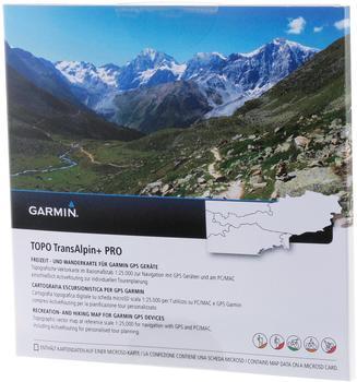 Garmin GARMIN Topo TransAlpine+ PRO microSD/SD