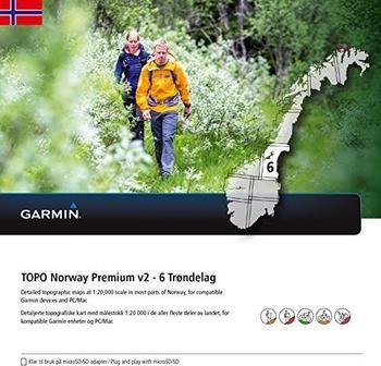 Garmin Topo Norwegen Premium 6 Trondelag