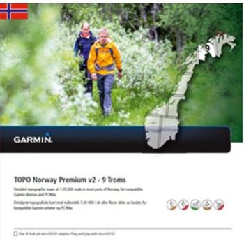 Garmin Topo Norwegen Premium 9 Troms