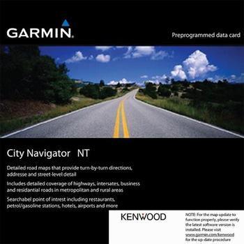 Garmin Kenwood KNA-SD27E City Navigator Europa NT 2015
